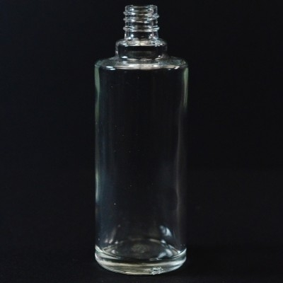 50 ml E4 Ronde Cylinder Clear Glass Bottle