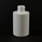 6 oz 24/410 Squat Cylinder Round Natural HDPE Bottle