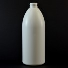 400 ML 28/410 Evolution Round White HDPE Bottle