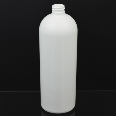 32 oz 28/410 Imperial Round White HDPE Bottle