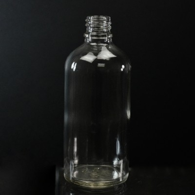 50 ml Euro Dropper 18-DIN Clear Glass Bottle