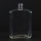100 ml E5 Bill Oval Clear Glass Bottle
