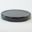 63/2030 Regular Twist Open Black Metal Cap / Plastisol Liner