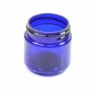 1 oz 38/400 Wide Mouth Cobalt Blue PET Jar