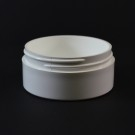 2 OZ 70/400 Thick Wall Straight Base White PP Jar - 360/Case