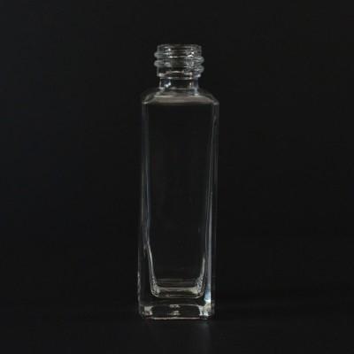 1/2 oz 15/425 Nancy Square Clear Glass Bottle