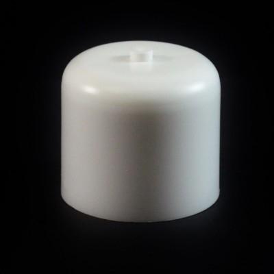 24/410 White Push Pull Soft Radius Dispensing Symmetrical Cap to 4 oz #227