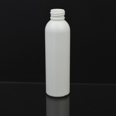 5 oz 24/410 Imperial Round White HDPE Bottle