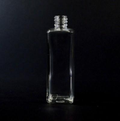 2 oz 18/415 Nancy Square Clear Glass Bottle