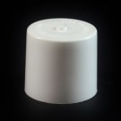 24/410 White Push Pull Flat Dispensing Symmetrical Cap to 4 oz #219
