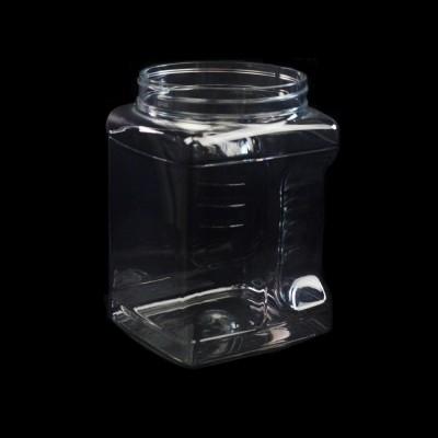 64 oz 110mm Clear Grip PET Jar