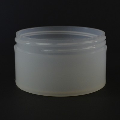 6 OZ 89/400 Thick Wall Straight Base Natural PP Jar - 140/Case