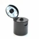 28/415 Smooth Black Snaptop Dispensing PP Cap