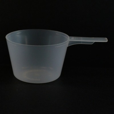 94 cc Plastic Measuring Scoop Natural Short Handle