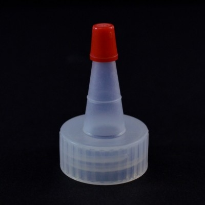 24/400 Ribbed Natural Yorker Dispensing Cap