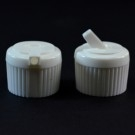 20/410 White Dispensing Spouted Cap PS-115 Land Seal PP