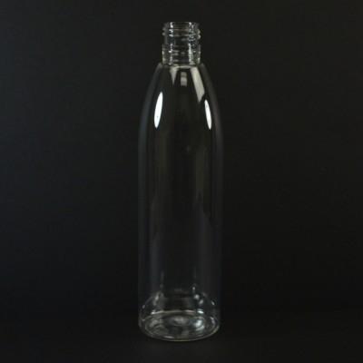 12 oz 24/410 Evolution Round Clear PET Bottle