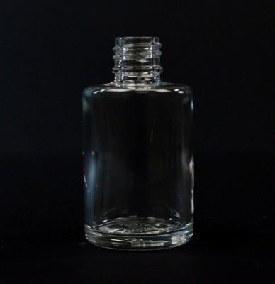 1/2 oz 13/415 Cylinder Clear Glass Bottle