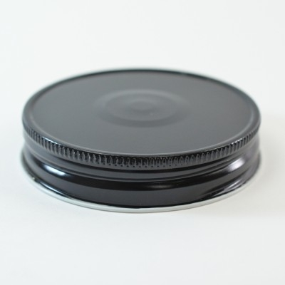 70 G-450 Black-White with Button Metal Cap with Plastisol Liner