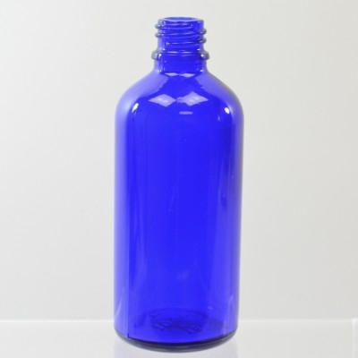 100 ml Euro Dropper 18-DIN Cobalt Glass Bottle