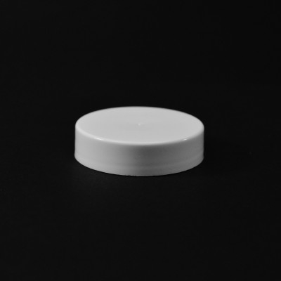 43/400 White Smooth Straight PP Cap / PS Liner - 2200/Case