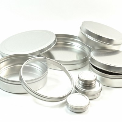 Seamless Shallow Metal Jars