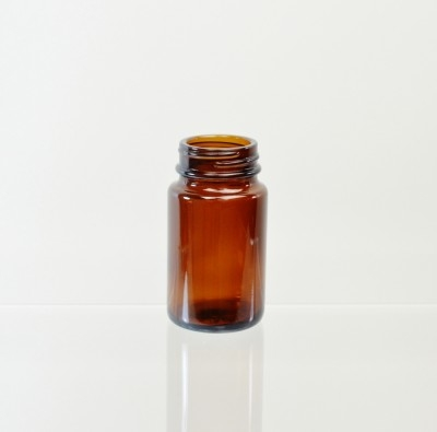75CC 38/400 Amber Glass Nutritional Supplement Packer