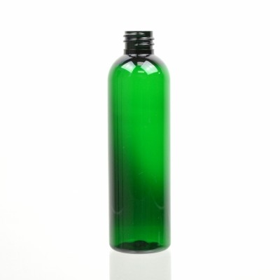 4 oz 20/410 Cosmo Round Emerald PET Bottle