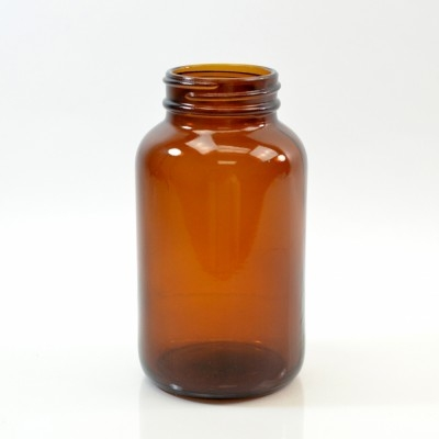 250CC 45/400 Amber Glass Nutritional Supplement Packer