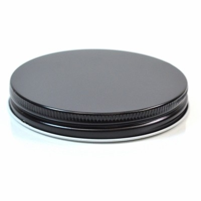 89/400 Black-Clear Metal Cap