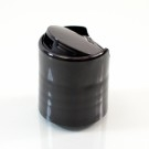 20/410 10-5301 Smooth Black Presstop Dispensing Cap PP