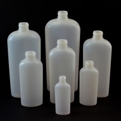 Classic Oval Plastic Bottles