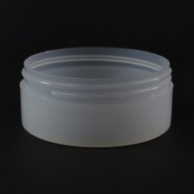 4 oz 89/400 Natural Thick Wall Straight Base PP Jar