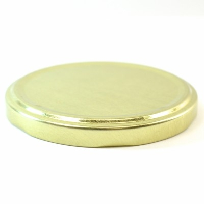82/2050 Regular Twist Open / Step Gold Metal Cap / Plastisol Liner
