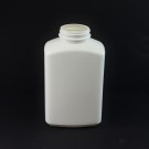 32oz 53/400 White Oblong Space Saver HDPE