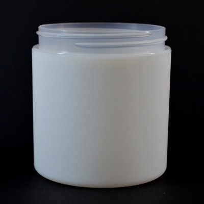 8 oz 89/400 Double Wall Straight Base IMF PP Jar
