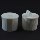 24/410 White Dispensing Spouted Cap PS-139 Land Seal PP