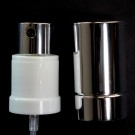 22/415 Fine Mist Sprayer White/Black/Shiny Silver Hood