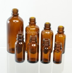 Euro Dropper Glass Bottles