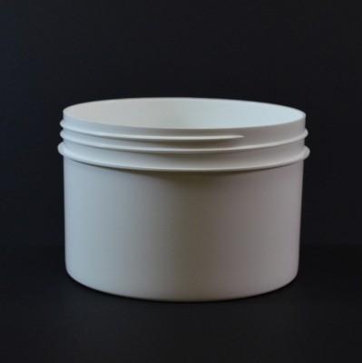 24 oz 120/400 Regular Wall Straight Base White PP Jar