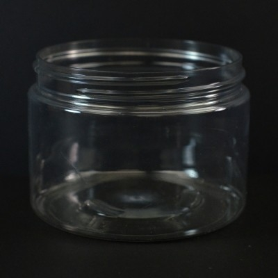 12 oz 89/400 Wide Mouth Clear PET Jar