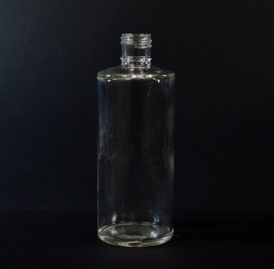6 oz 22/415 Cylinder Clear Glass Bottle
