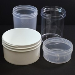 Regular Wall Straight Base Plastic Jars