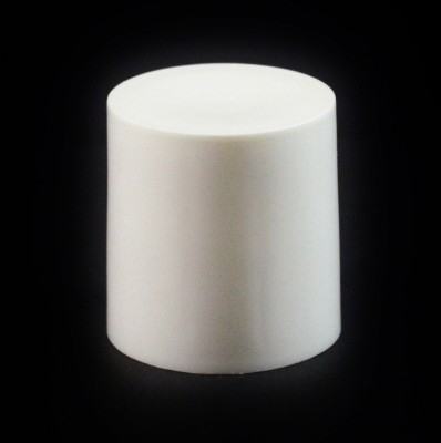 24/410 White Flat Symmetrical Cap to 2 oz #223