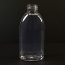 4 oz 24/410 Capri Oval Clear PET Bottle