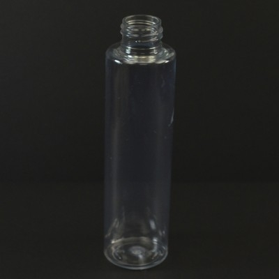 4 oz 24/410 Slim Cylinder Clear PET Bottle