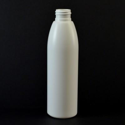 6 oz 24/410 Evolution Round White HDPE Bottle