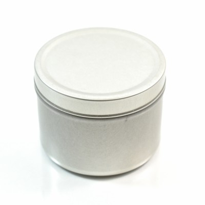 4 oz. Seamless Deep Metal Straight Base Jar