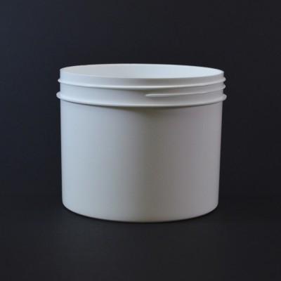 32 oz 120/400 Regular Wall Straight Base White PP Jar