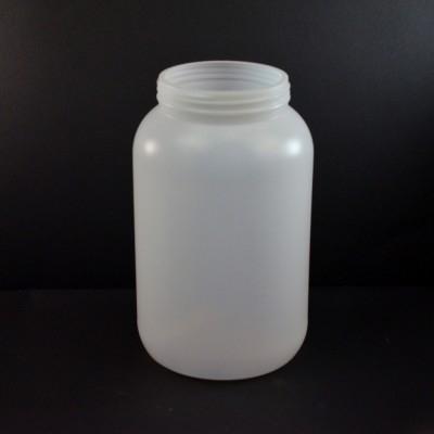 1 Gallon 110mm Natural Round HDPE Jar